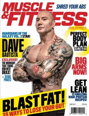 abc03fc4b50 Muscle  amp  Fitness Philippines Magazine June 2017 issue – Get your  digital copy