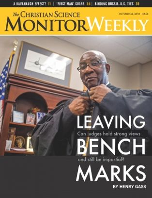 The Christian Science Monitor Weekly Magazine October 22 2018 Issue