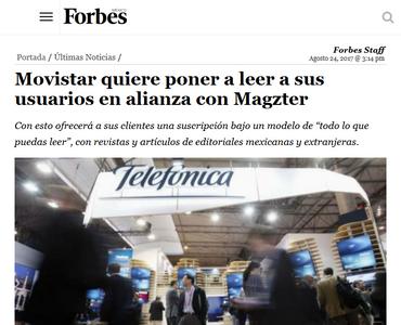 Movistar quiere poner a leer a sus usuarios en alianza con Magzter