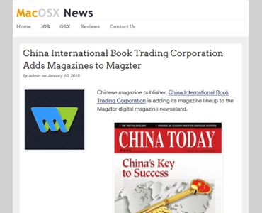 China International Book Trading Corporation Adds Magazines to Magzter