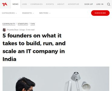 5 founders on what it takes to build, run, and scale an IT company in India