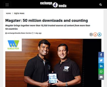 Magzter: 50 million downloads and counting