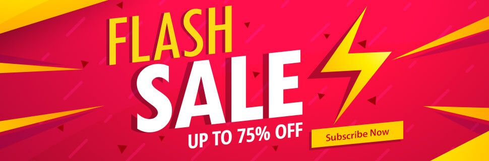 Flash Sale - UP TO 75% OFF