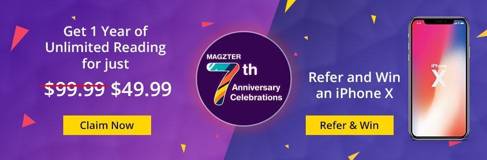 Magzter 7th Anniversary Offer
